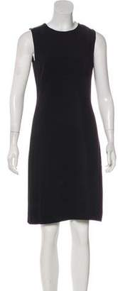 Prada Sleeveless Sheath Knee-Length Dress