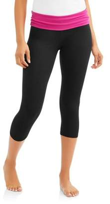 No Boundaries Juniors' Essential Skinny Capri Yoga Pants