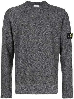 Stone Island melange sweatshirt