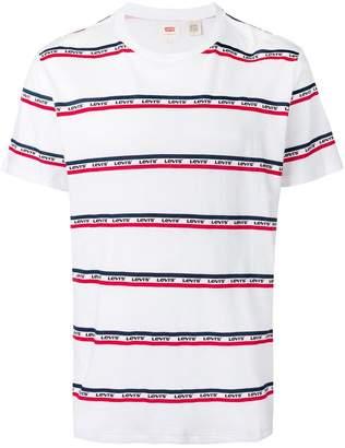 Levi's logo strap T-shirt