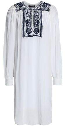 Embroidered Chiffon Cover Up