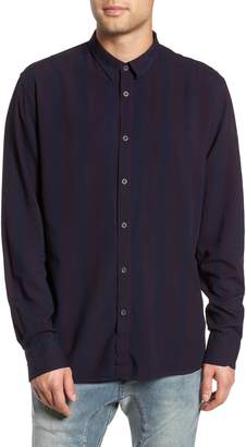 Zanerobe Striped Long Sleeve Shirt