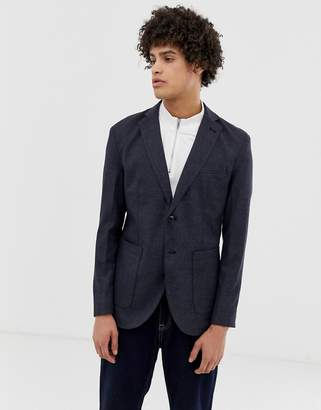 Jack and Jones patch pocket blazer in slim fit