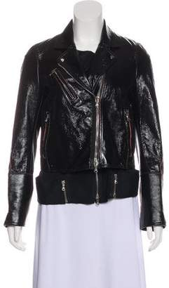 3.1 Phillip Lim Patent Leather Biker Jacket