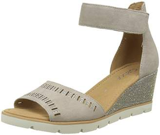 Gabor Shoes Women's Basic Ankle Strap Sandals,(37.5 EU)