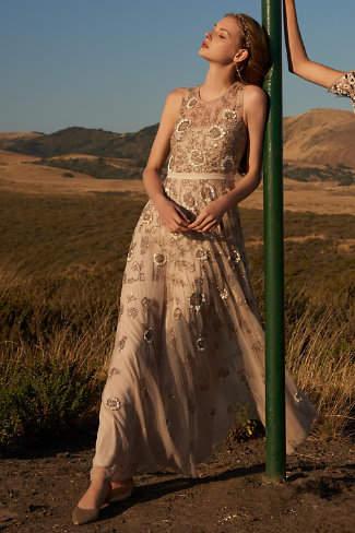 BHLDN Verdure Gown