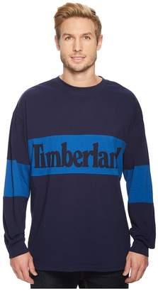Timberland Warner River Long Sleeve Retro Oversized Tee Men's T Shirt