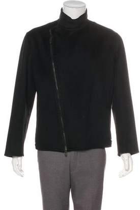 Giorgio Armani Cashmere Zip Jacket