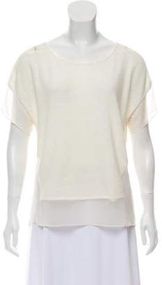 Thakoon Sheer Knitted Top