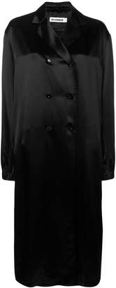 Jil Sander Groove double breasted coat