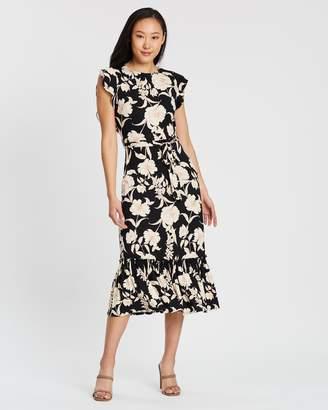 Dorothy Perkins Floral Jersey Maxi Dress