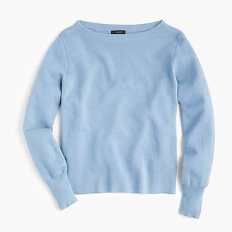 J.Crew Subtle boatneck sweater