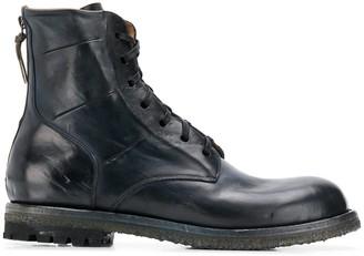 Silvano Sassetti combat ankle boots