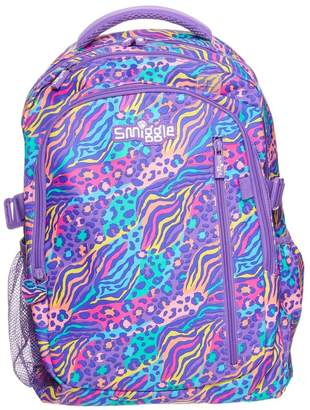 Girls Smiggle Explore Attach Backpack - Purple