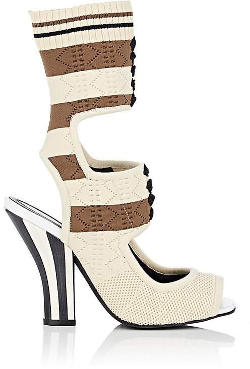 Fendi Women's Rockoko Pointelle Sandals