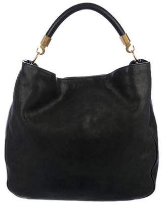 Saint Laurent Leather Roady Hobo
