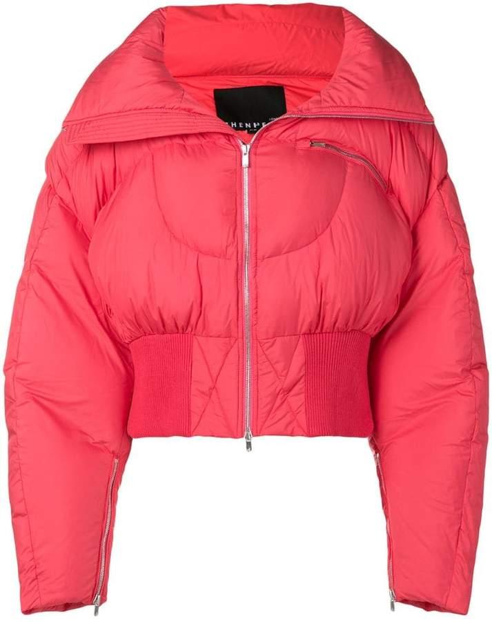 Chen Peng oversized puffer jacket