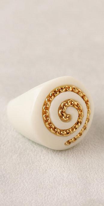 Rachel Leigh Chain Link Ring