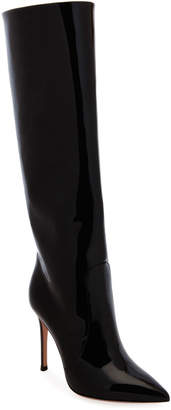 Gianvito Rossi Patent Over-The-Knee Boots