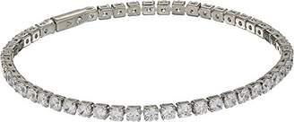 Vince Camuto Women's 3mm CZ Cup Chain Tennis Bracelet