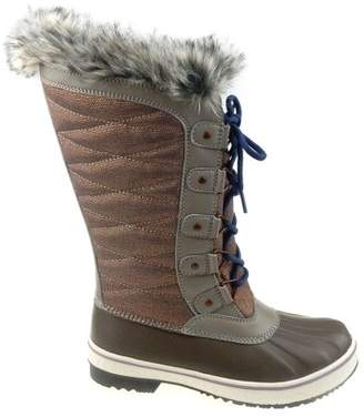 e97d23862d Time and Tru Women s Tall Lace-up Winter Boot
