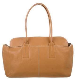 Tod's Leather Tote Bag Brown Leather Tote Bag