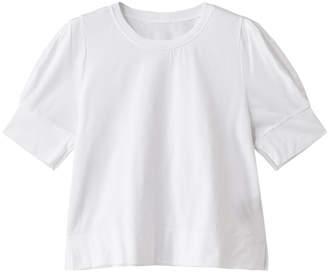 Plain People (プレイン ピープル) - プレインピープル コットン天竺シルケットパフスリーブTシャツ