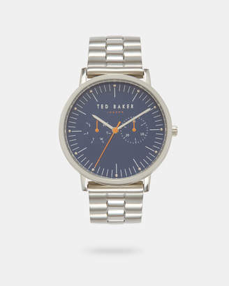 Ted Baker BRITSN Round face stainless steel watch