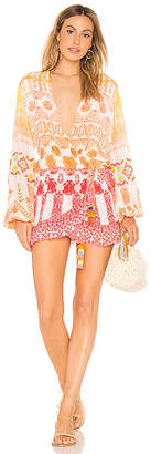 Rococo Sand Zoe Wrap Dress