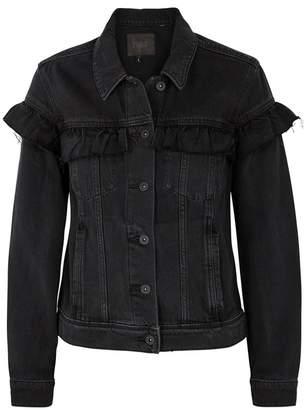 Paige Heidi Anthracite Denim Jacket