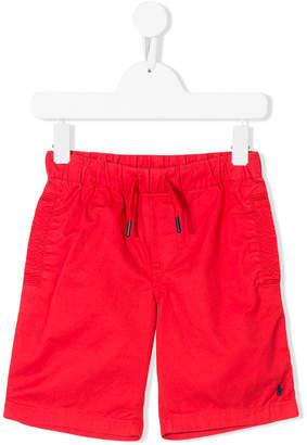 Ralph Lauren logo embroidered shorts