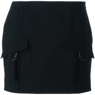 Anthony Vaccarello cargo pocket mini skirt