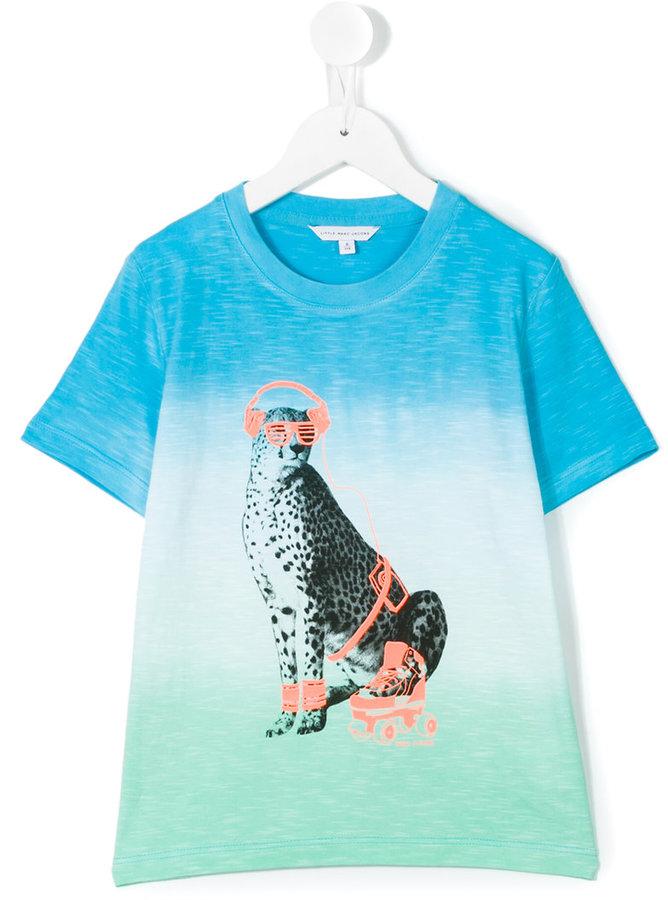 Little Marc JacobsLittle Marc Jacobs leopard print T-shirt