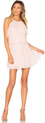 Karina Grimaldi Lulu Solid Mini Dress $228 thestylecure.com