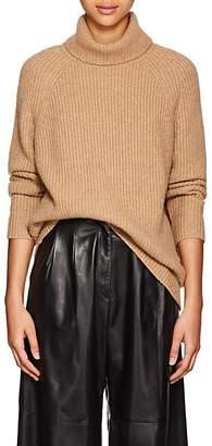 Nili Lotan Women's Anitra Rib-Knit Wool-Blend Sweater - Camel