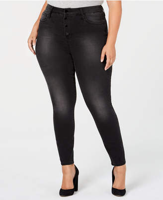 Seven7 Jeans Trendy Plus Size Ultra High-Rise Skinny Jeans