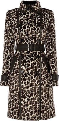 Karen Millen Leopard Print Coat