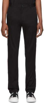 Burberry Black Shibden Chino Trousers