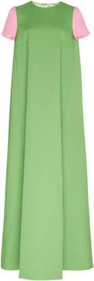 Emilia Wickstead Prynella A-Line Crepe Gown