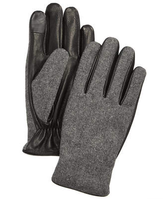 Ryan Seacrest Distinction Ryan Seacrest DistinctionTM Men's Mixed-Media Gloves, Created for Macy's
