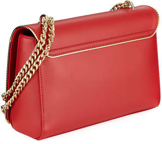 Love Moschino Smooth Flap Shoulder Bag