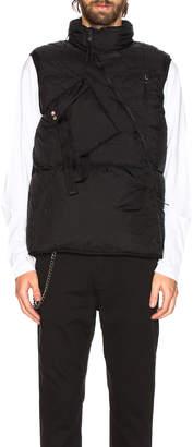 Alyx Asymmetric Puffer Vest
