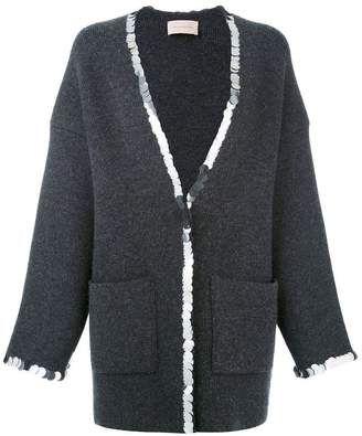 Christopher Kane sequin trim cardigan