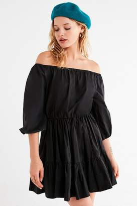 STYLEKEEPERS Off Limits Off-The-Shoulder Tiered Dress