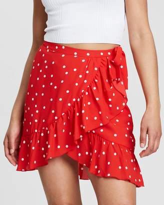 Only Rubi Wrap Skirt