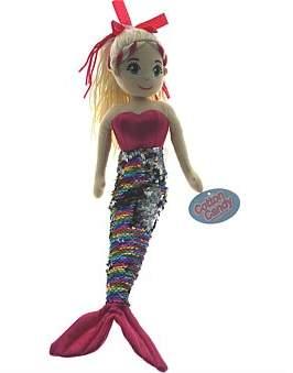 Cotton Candy Isla Pink Rainbow Mermaid