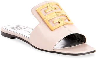 Givenchy 4G Flat Slide Mules