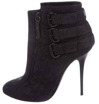Giuseppe Zanotti Suede Ankle Boots