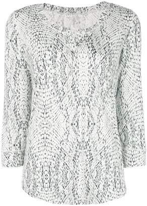 Majestic Filatures snake print blouse
