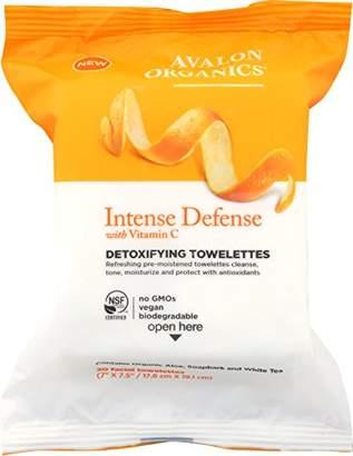 Avalon Intense Defense Detoxifying Towelettes